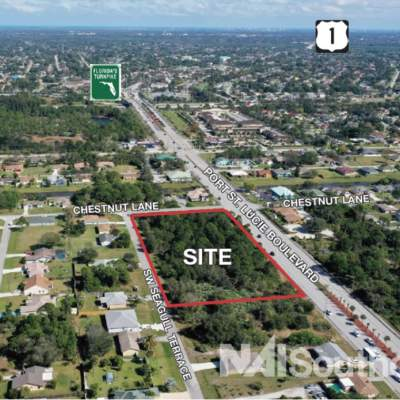 3.24 Acres Commercial Corner in Port St. Lucie